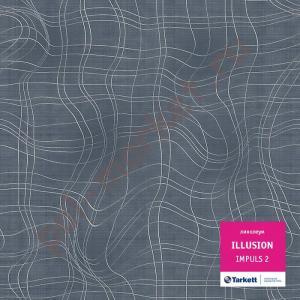 Купить ILLUSION КМ2 - полукоммерческий Линолеум Tarkett, Illusion, IMPULS 2, ширина  3 метра (розница)  в Екатеринбурге