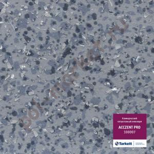 Купить ACCZENT PRO (КМ2) - коммерческий гетерогенный Линолеум Tarkett (Таркетт), Acczent PRO (Акцент ПРО), 100007, синий, ширина 2 метра, коммерческий-гетерогенный (ОПТ)  в Екатеринбурге