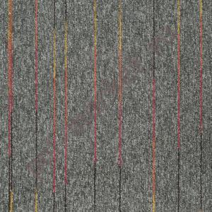 Ковровая плитка Sintelon (Сербия), SKY  NEON (50*50, КМ2, 100%РА) серая 34683