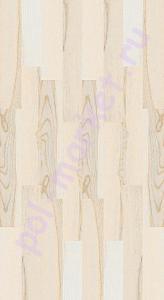 Пробковый паркет CorkStyle (КоркСтиль), Print Cork (Принт Корк), Esche Weiss, 33 класс