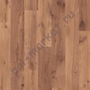 Ламинат Quick step (Квик Степ), Eligna (Элигна, 32кл, 8мм) U995, Доска дуба Vintage лакированная натуральная