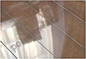 Ламинат Eurostyle, Diamond (33кл, 12мм, 4V-фаска) 102, Венге шоколад