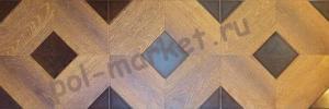 Ламинат Profield (Профилд), Parkett (Паркетт, 33кл, 8мм, 4U-фаска) Барокко Золотистый 1592-5