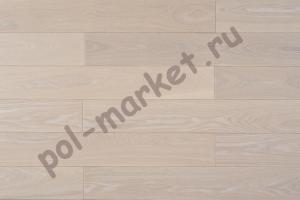Купить Классика (1-полосная) Паркетная доска Amber wood ясень белая ночь 189мм  в Екатеринбурге