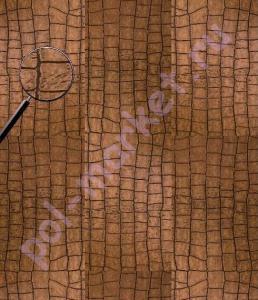 Кожаный паркет CorkStyle (КоркСтиль), CorkLeather (КоркЛечер), Alligator Gold, 31 класс