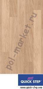 Купить PERSPECTIVE 32/9.5/4V Ламинат Quick step (Квик Степ), Perspective (Перспектив, 32кл, 9.5мм, 4V-фаска) TU915 доска белого дуба лакированная  в Екатеринбурге