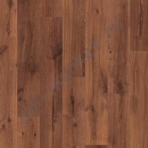 Ламинат Quick step (Квик Степ), Eligna (Элигна, 32кл, 8мм) U1001, Доска дуба Vintage лакированная темная