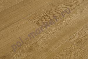Паркетная доска Amber Wood, Дуб Натур (бесцветный лак)