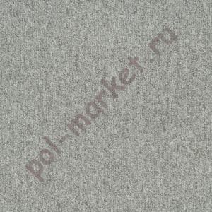 Ковровая плитка Sintelon (Сербия), SKY (50*50, КМ2, 100%РА) серая 39382