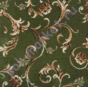 Ковролин Balta (Балта), Sandringham wilton, Babylon Garden 2103-45, Зеленый, ширина 4 метра, тканый (розница)