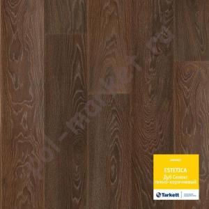 Купить Estetica (33/9/4V) Ламинат Tarkett Estetica дуб селект темно-коричневый  в Екатеринбурге
