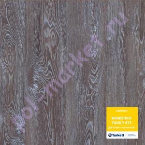 Ламинат Tarkett (Таркетт), Woodstock Premium (Вудсток премиум, 33кл, 8мм) Дуб Лориэн коричневый