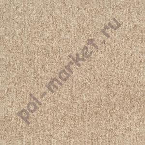 Ковровая плитка Sintelon (Сербия), SKY (50*50, КМ2, 100%РА) бежевая 87382