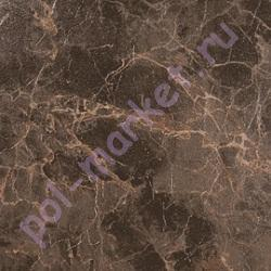 ПВХ плитка клеевая Decoria (Декория), Office (Оффис, 3мм, 0.5мм, 43кл, КВ) DMS260, Мрамор Черный Золото