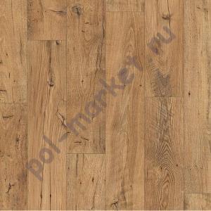Купить ELIGNA WIDE 32/8 Ламинат Quick step (Квик степ), Eligna Wide (Элигна Вайд, 32кл, 8мм) UW1541, Реставрированный каштан натур  в Екатеринбурге