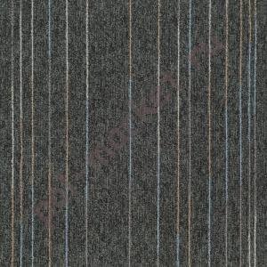 Ковровая плитка Sintelon (Сербия), SKY LASH (50*50, КМ2, 100%РА) черная 33884