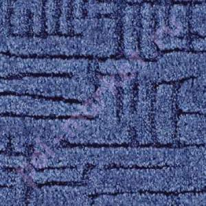 Ковролин Калинка, Канны, 77 синий, ширина 4 метра, низкий ворс (розница)