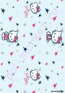 Клеевое пробковое покрытие CorkStyle (КоркСтиль), Hello Kitty&Snoopy (Хэллоу Китти Энд Снуппи), My Stars
