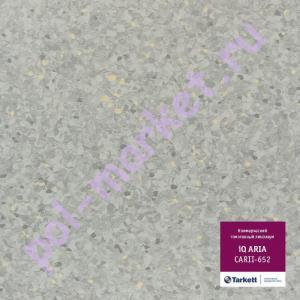 Линолеум Tarkett (Таркетт), Aria IQ (Ариа), 652, ширина 2 метра, коммерческий-гомогенный (ОПТ)