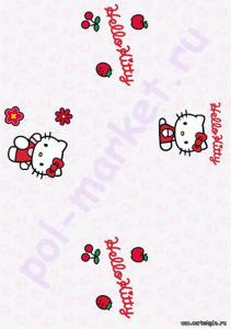 Пробковый паркет CorkStyle (КоркСтиль), Hello Kitty&Snoopy (Хэллоу Китти Энд Снуппи), Classic, 33 класc
