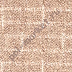 Купить БРИК (скролл) Ковролин Zartex (Зартекс), Брик, 122 св. коричневый, ширина 3 метра, низкий ворс (РОЗНИЦА)  в Екатеринбурге