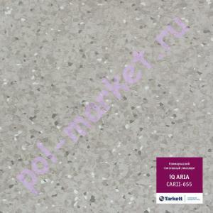 Линолеум Tarkett (Таркетт), Aria IQ (Ариа), 655, ширина 2 метра, коммерческий-гомогенный (ОПТ)