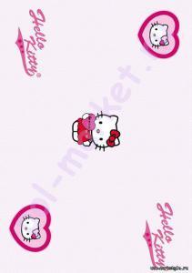Купить HELLO KITTY&SNOPPY (клеевые) Клеевое пробковое покрытие CorkStyle (КоркСтиль), Hello Kitty&Snoopy (Хэллоу Китти Энд Снуппи), Valentines Heart  в Екатеринбурге