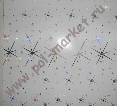 Пластиковые панели Урал-пласт, Звезда металлик (2700*250*9) СН44