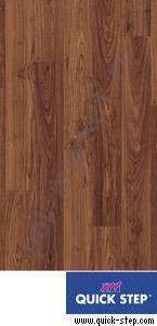 Ламинат Quick step (Квик Степ), Perspective (Перспектив, 32кл, 9.5мм, 4V-фаска) UF1043 доска ореховая промасленная