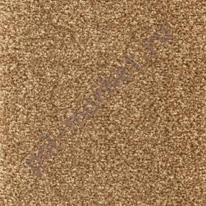 Ковролин Zartex (Зартекс), Порто Россо, 212 св.коричневый, ширина 3.5 метра, средний ворс (РОЗНИЦА)