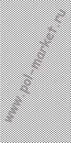 Пластиковые панели Урал-пласт, Серебрянная клетка металлик (2700*250*9) СН43