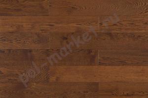 Паркетная доска Amber wood дуб шоколад 189мм
