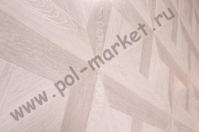 Ламинат Paradise, Parkuet 8мм (34кл, 4U) Дуб лувр молочный Р-929