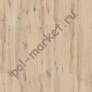 Паркетная доска Barlinek (Барлинек), Pure (Пур), Дуб Ivory Grande, замок 5G, тонировка (масло OXI), 1-полосная