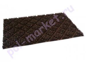 Щетинистое покрытие в нарезку: Finnturf plus (Файнтурф плюс) FTP 40 Темно-коричневый