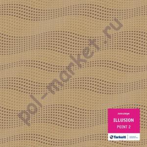 Купить ILLUSION КМ2 - полукоммерческий Линолеум Tarkett, Illusion, POINT 2, ширина 4 метра (розница)  в Екатеринбурге
