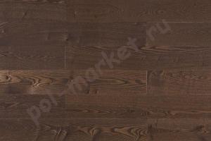 Массивная доска Amber Wood (Амбер Вуд), Ясень Кофе (Лак), 120мм