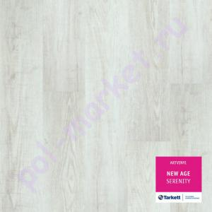 ПВХ плитка клеевая Tarkett Art Vinil, New Age (2.1мм, 0.4мм, 32кл) SERENITY