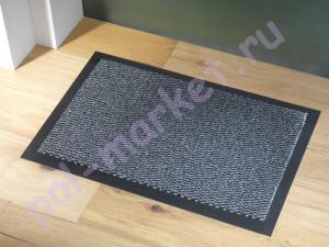 Влаговпитывающий коврик Faro (Фаро) 90*120см, 04 серый