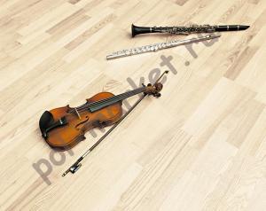 Паркетная доска Maestro (Маэстро), Symphony-3 (Симфония-3), Ясень Крем, 7035, 3-полосный