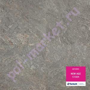 Купить NEW AGE (2.1мм, 32кл) ПВХ плитка клеевая Tarkett Art Vinil, New Age (2.1мм, 0.4мм, 32кл) STORM  в Екатеринбурге