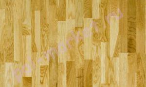 Паркетная доска Polarwood (Поларвуд), ДУБ LIVING, 3-полосный