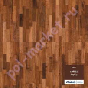Купить SAMBA 3-полосный Паркетная доска Tarkett (Таркетт), Samba (Самба), Мербау, 3-полосный  в Екатеринбурге