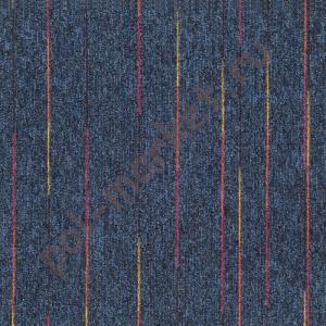Ковровая плитка Sintelon (Сербия), SKY NEON (50*50, КМ2, 100%РА) синяя 44883