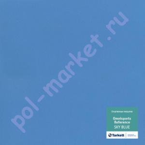 Спортивный линолеум оптом: Tarkett (Таркетт), Omnisports Referens (Омниспорт Референс), ширина 2 метра, SKY BLUE