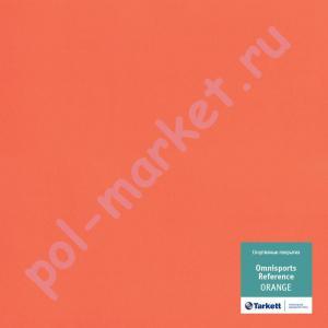 Купить Omnisports REFERENCE 6.5мм Спортивный линолеум оптом: Tarkett (Таркетт), Omnisports Referens (Омниспорт Референс), ширина 2 метра, ORANGE  в Екатеринбурге